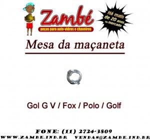 mesa da maçaneta gol gv fox polo golf